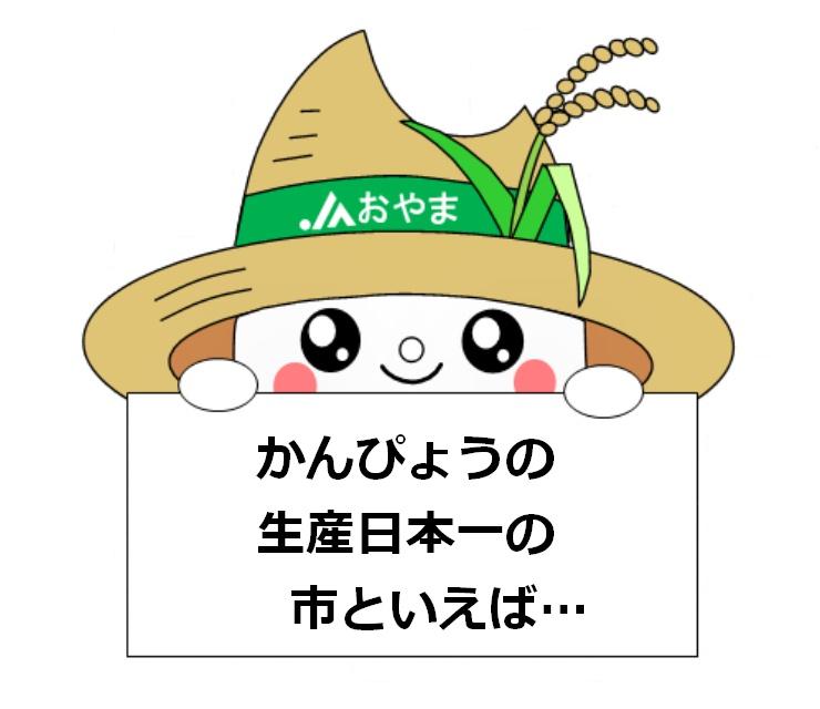 かんぴょうの生産日本一の市といえば…