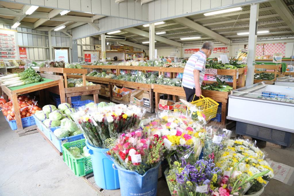 人気呼ぶ農産物直売所 JAおやま「四季彩」