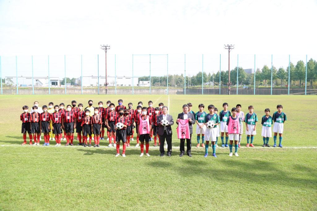 野木町サッカー フェスに初協賛