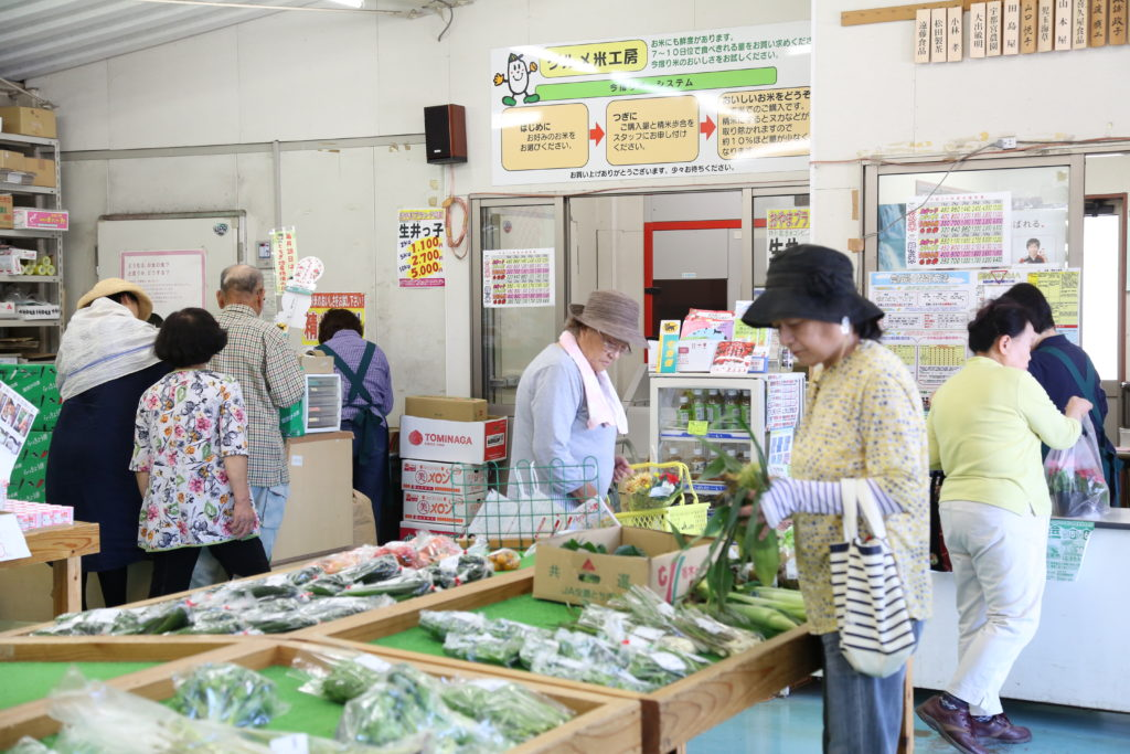 夏野菜まつり 直売所で多彩に