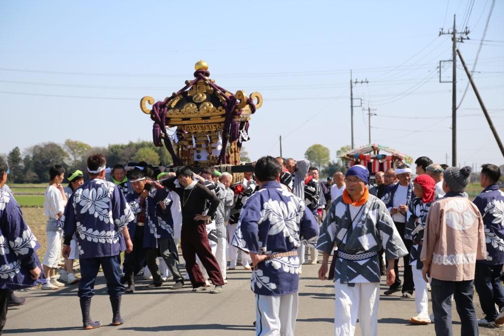 五穀豊穣祈る~小山市の神社例大祭~
