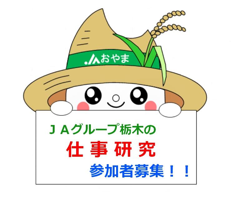 JAグループ栃木の仕事研究 参加者募集!!