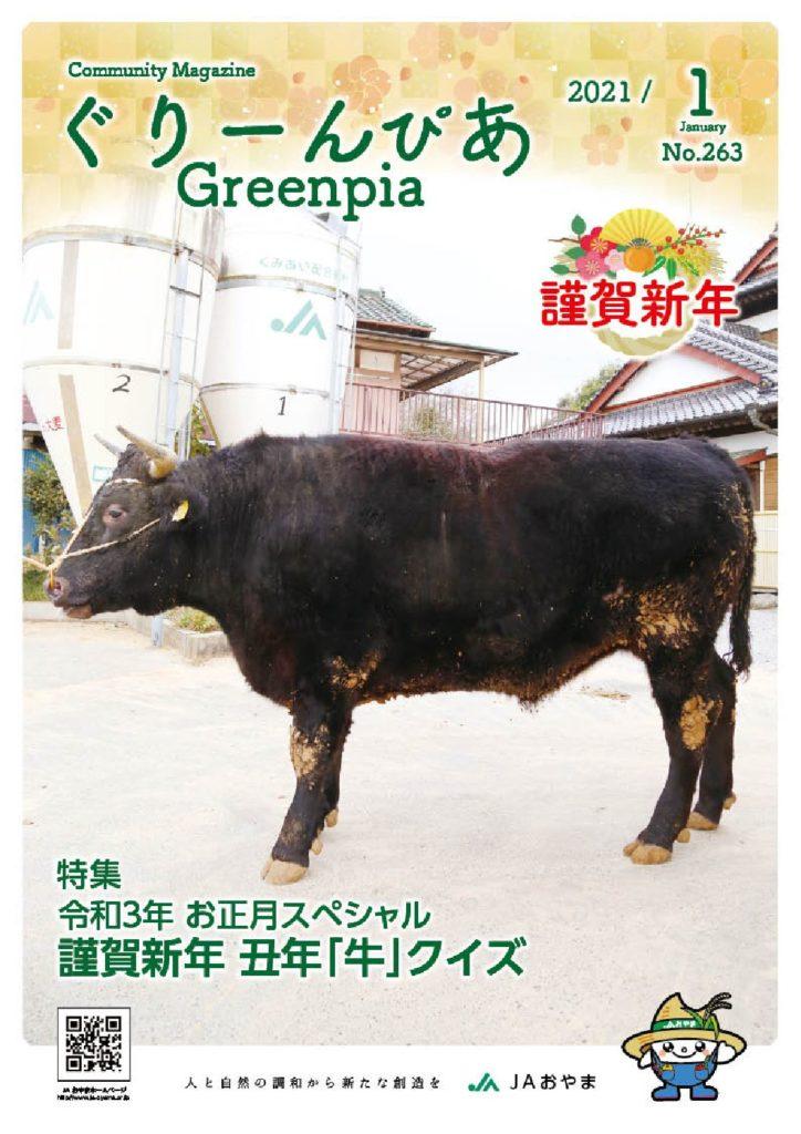 ぐりーんぴあ 2021年1月発行Vol.263