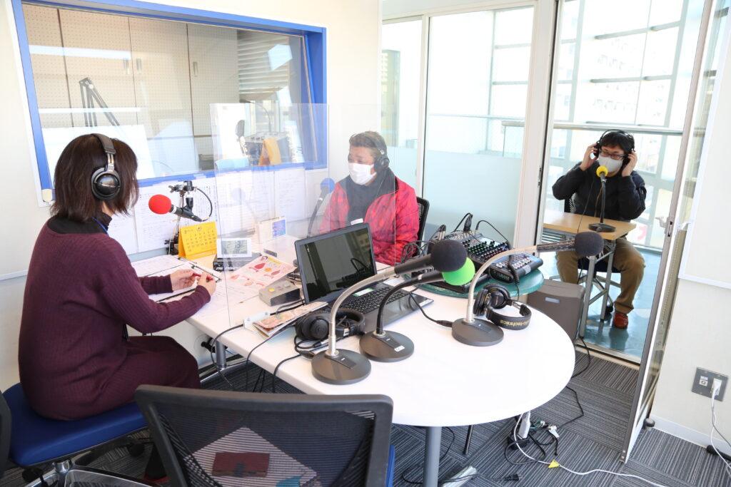 ラジオ番組で イチゴをPR