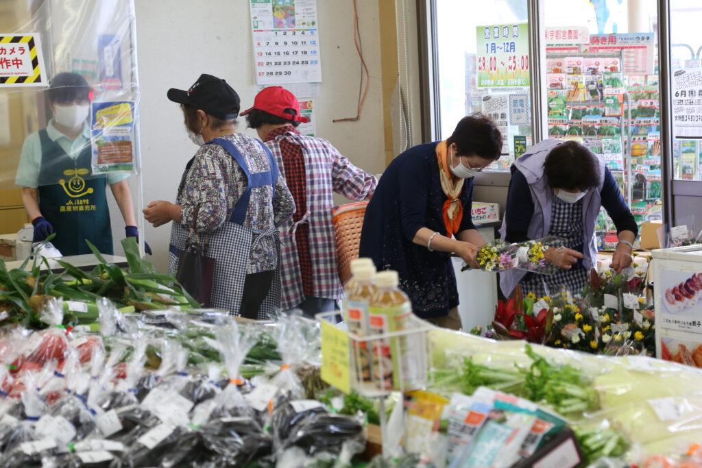 夏野菜セール好評